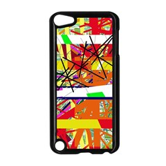 Colorful abstraction by Moma Apple iPod Touch 5 Case (Black)
