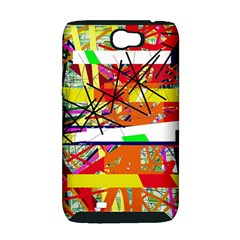 Colorful abstraction by Moma Samsung Galaxy Note 2 Hardshell Case (PC+Silicone)