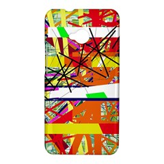 Colorful abstraction by Moma HTC One M7 Hardshell Case