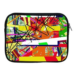 Colorful abstraction by Moma Apple iPad 2/3/4 Zipper Cases