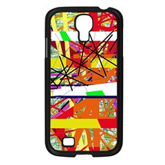 Colorful abstraction by Moma Samsung Galaxy S4 I9500/ I9505 Case (Black)