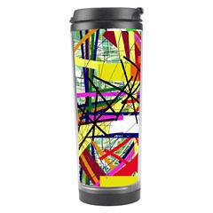 Colorful abstraction by Moma Travel Tumbler