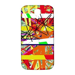Colorful abstraction by Moma Samsung Galaxy S4 I9500/I9505  Hardshell Back Case