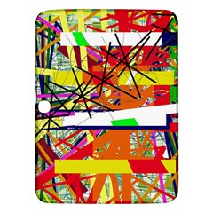 Colorful abstraction by Moma Samsung Galaxy Tab 3 (10.1 ) P5200 Hardshell Case