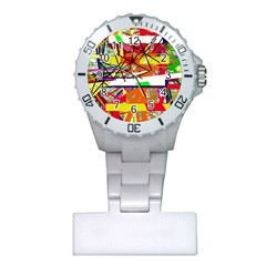 Colorful abstraction by Moma Plastic Nurses Watch