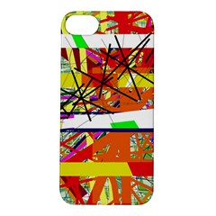 Colorful abstraction by Moma Apple iPhone 5S/ SE Hardshell Case