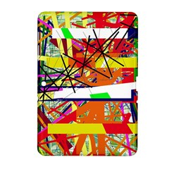 Colorful abstraction by Moma Samsung Galaxy Tab 2 (10.1 ) P5100 Hardshell Case