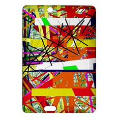 Colorful abstraction by Moma Amazon Kindle Fire HD (2013) Hardshell Case