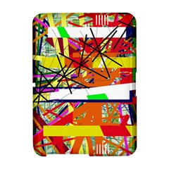 Colorful abstraction by Moma Amazon Kindle Fire (2012) Hardshell Case