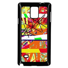 Colorful abstraction by Moma Samsung Galaxy Note 4 Case (Black)