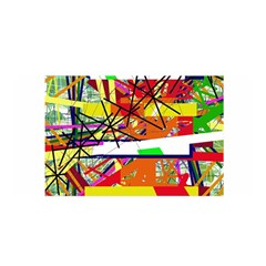 Colorful abstraction by Moma Satin Wrap