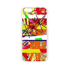 Colorful abstraction by Moma Apple Seamless iPhone 6/6S Case (Transparent)
