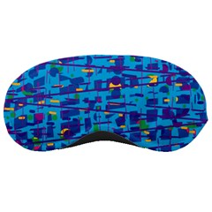 Blue decorative art Sleeping Masks