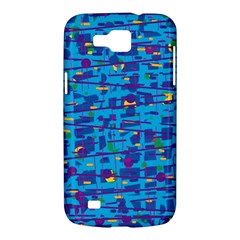 Blue decorative art Samsung Galaxy Premier I9260 Hardshell Case