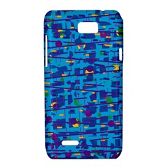 Blue decorative art Motorola XT788