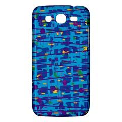 Blue decorative art Samsung Galaxy Mega 5.8 I9152 Hardshell Case