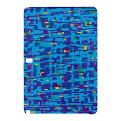 Blue decorative art Samsung Galaxy Tab Pro 10.1 Hardshell Case