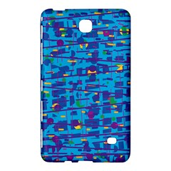 Blue decorative art Samsung Galaxy Tab 4 (8 ) Hardshell Case