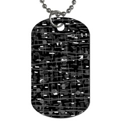 Simple gray Dog Tag (Two Sides)