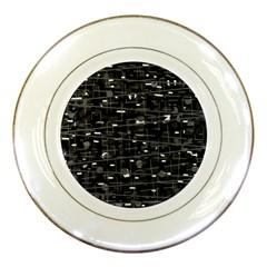 Simple Gray Porcelain Plates