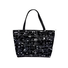 Simple gray Shoulder Handbags
