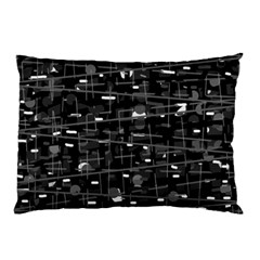 Simple gray Pillow Case (Two Sides)