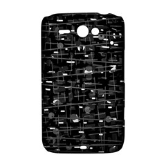 Simple gray HTC ChaCha / HTC Status Hardshell Case