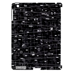 Simple gray Apple iPad 3/4 Hardshell Case (Compatible with Smart Cover)