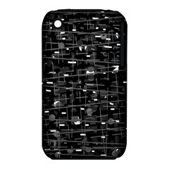 Simple gray Apple iPhone 3G/3GS Hardshell Case (PC+Silicone)