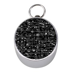 Simple gray Mini Silver Compasses