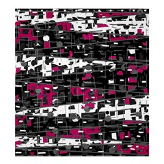 Magenta, white and gray decor Shower Curtain 66  x 72  (Large)