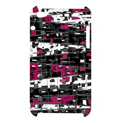 Magenta, white and gray decor Apple iPod Touch 4