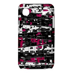Magenta, white and gray decor Samsung Galaxy SL i9003 Hardshell Case