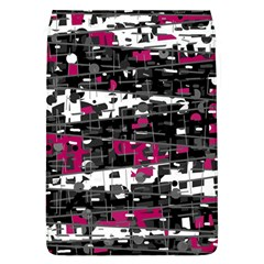 Magenta, white and gray decor Flap Covers (L)