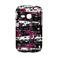 Magenta, white and gray decor Samsung Galaxy S6310 Hardshell Case