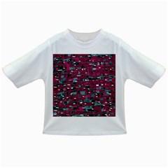 Magenta decorative design Infant/Toddler T-Shirts