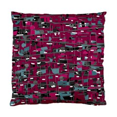 Magenta decorative design Standard Cushion Case (Two Sides)