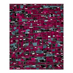 Magenta decorative design Shower Curtain 60  x 72  (Medium)