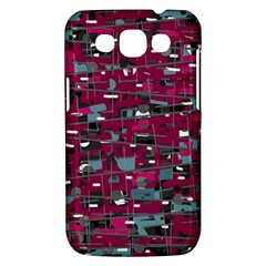 Magenta decorative design Samsung Galaxy Win I8550 Hardshell Case