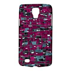 Magenta decorative design Galaxy S4 Active