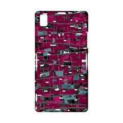Magenta decorative design Sony Xperia Z1
