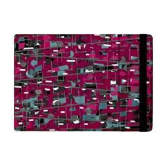 Magenta decorative design iPad Mini 2 Flip Cases