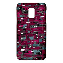 Magenta decorative design Galaxy S5 Mini