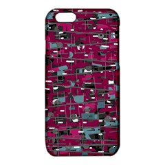 Magenta decorative design iPhone 6/6S TPU Case