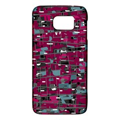 Magenta decorative design Galaxy S6