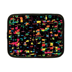 Playful colorful design Netbook Case (Small)