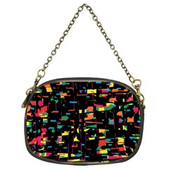 Playful colorful design Chain Purses (Two Sides)