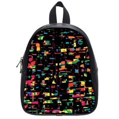 Playful colorful design School Bags (Small)