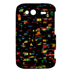 Playful colorful design HTC Wildfire S A510e Hardshell Case