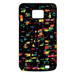 Playful colorful design Samsung Galaxy S II i9100 Hardshell Case (PC+Silicone)